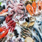 hải sản mang về ở Cửa Lò