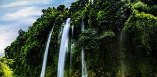 Thác nặm rứt địa điểm du lịch cực đẹp ở Thái Nguyên
