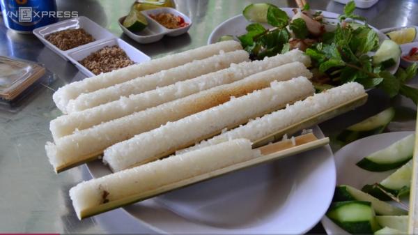 đặc sản cơm lam tây bắc