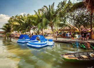 làng du lịch tre việt- điểm du lịch gần sài gòn