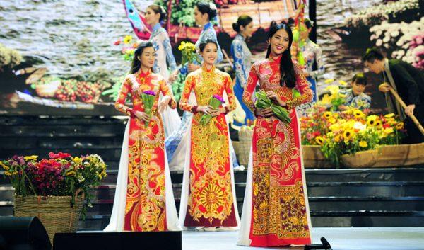 Tuần lễ thời trang Áo dài – Lụa
