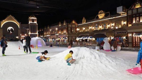 Khu vui chơi giải trí Snow Town Sài Gòn-địa điểm vui chơi ở sài gòn