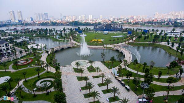 Công viên ven sông lớn nhất Sài Gòn