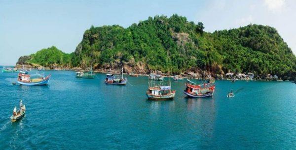 đảo hòn khoai hòn đảo đẹp của cực nam tố quốc