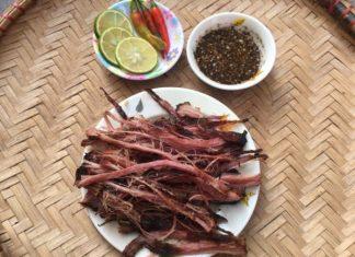 thịt gác bếp món ngon tây bắc