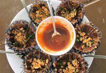 Nhum - đặc sản biển Phú Quốc