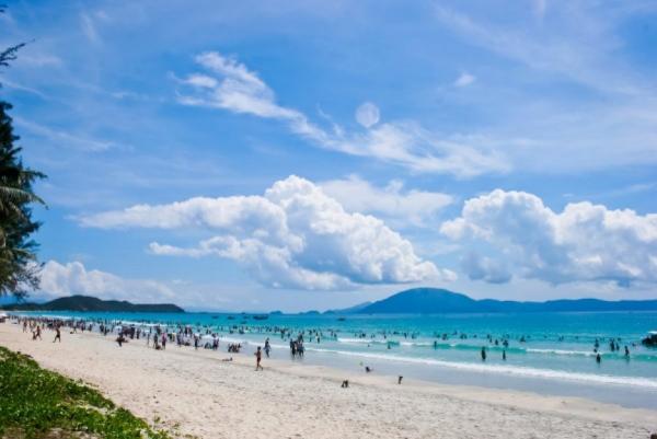 Biển Thiên Cầm - điểm du lịch Hà Tĩnh