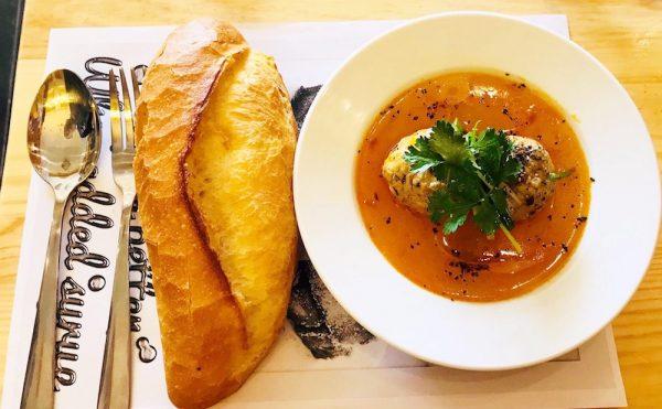 Bánh mì xíu mại món ngon Đà Lạt
