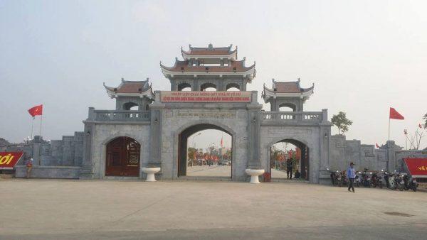 Thành cổ Xương Giang điểm du lịch Bắc Giang