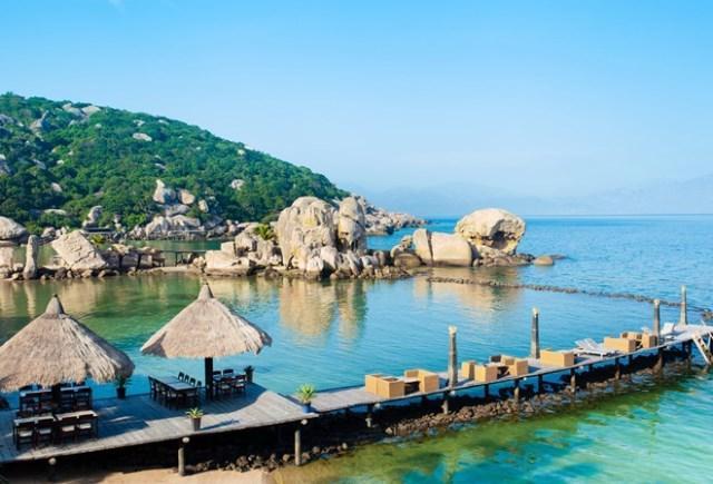 hình ảnh đảo Bình Lập