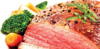 Thịt tái bò kiến đốt đặc sản Tam Đảo