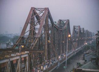 hình ảnh cây cầu long biên