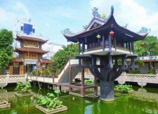 kiến trúc độc đáo nổi tiếng của chùa một cột