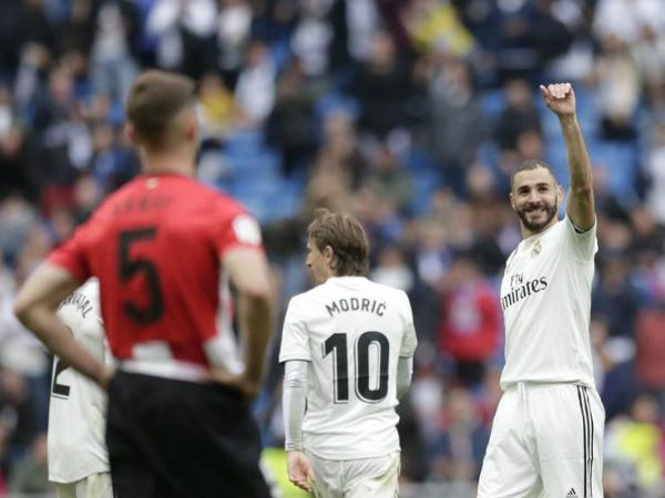 Real có chiến thắng với tỷ số đậm nhất từ khi Zidane quay trở lại