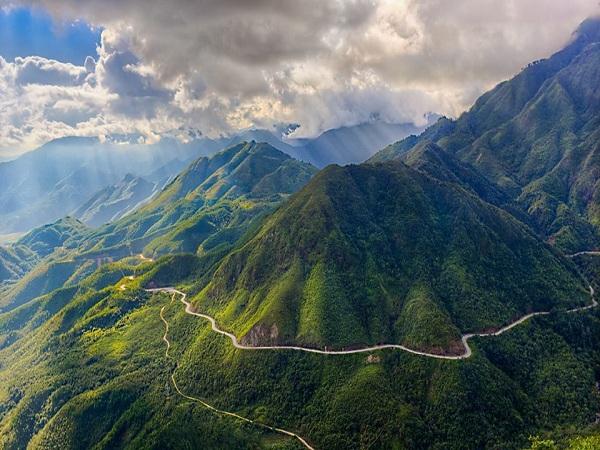 Đèo ô quy hồ - điểm du lịch lai châu