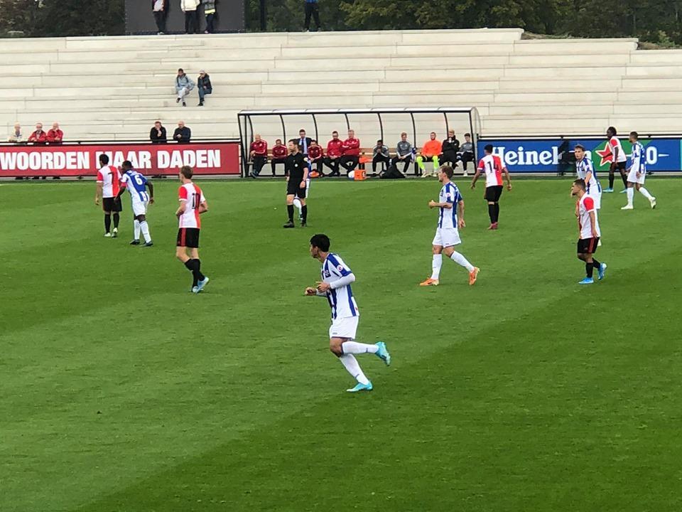 Heerenveen 3-3 Feyenoord - Văn Hậu đá chính