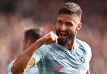 West Ham để mắt tới 'chân gỗ' Giroud của Chelsea