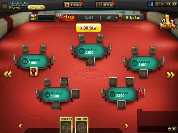 Bí quyết chơi sâm lốc hay tại cổng game Thập thành - hãy vạch sẵn kế hoạch tác chiến