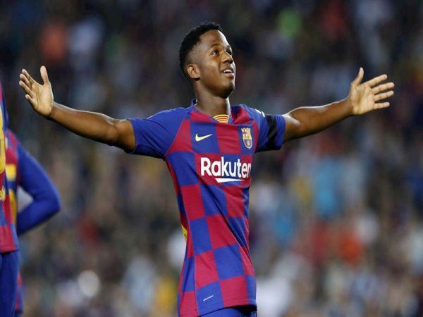 Chuyển nhượng trưa 24/9: Barca giữ Ansu Fati ở lại sân Camp Nou