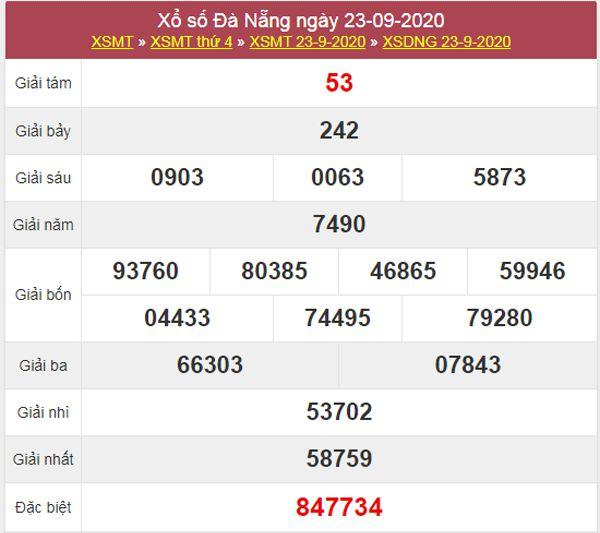 Dự đoán XSDNG 26/9/2020 chốt KQXS Đà Nẵng thứ 7