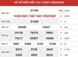 Dự đoán XSMB ngày 23/9/2020 chốt KQXS miền Bắc thứ 4