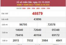 Dự đoán XSMB ngày 23/10/2020 chốt lô VIP miền Bắc thứ 6
