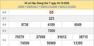 Tổng hợp dự đoán KQXSHG ngày 10/10/2020- xổ số hậu giang