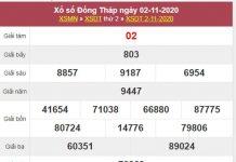 Dự đoán XSDT 9/11/2020 chốt số Đồng Tháp cùng chuyên gia