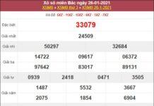 Dự đoán XSMB ngày 27/1/2021 chốt loto số đẹp miền Bắc thứ 4