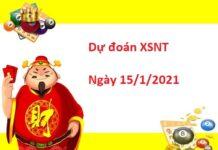 Dự đoán XSNT 15/01/2021