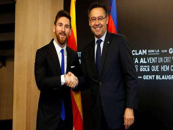 Chuyển nhượng sáng 2/2: Bartomeu phủ nhận chuyện lộ hợp đồng Messi