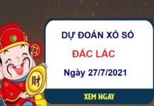 Dự đoán XSDLK ngày 27/7/2021