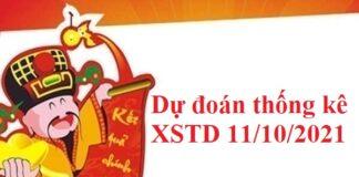 Dự đoán thống kê XSTD 11/10/2021