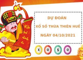 Dự đoán xổ số Thừa Thiên Huế 4/10/2021 hôm nay thứ 2
